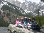 Family at Taggart Lake