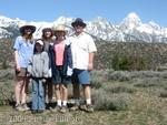 Family at Grand Tetons