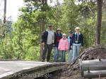 Family at Upper Geyser Basin
