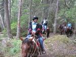 Horseback riding at Glacier