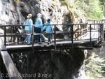 Catwalks at Johnston Canyon