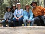 Family at Johnston Canyon