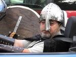 Viking head shot #1.