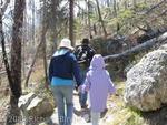 Hiking at Jenny Lake